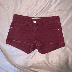 Malibu shorts size 0